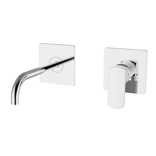 Immagine HD SWING Wall mounted basin mixer