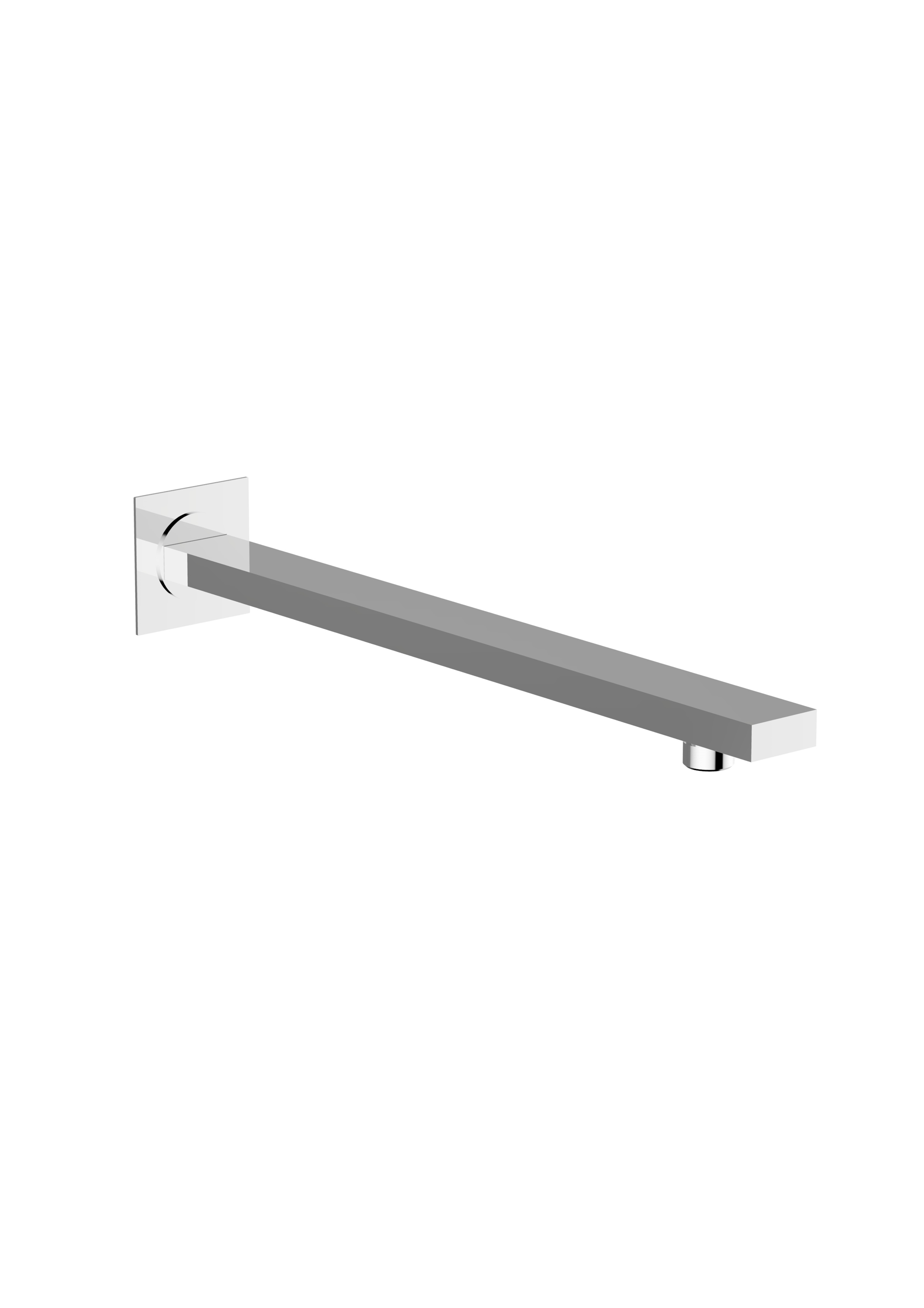 Immagine HD Ceiling mounted shower arm SQUARE L=100 mm – 25X25