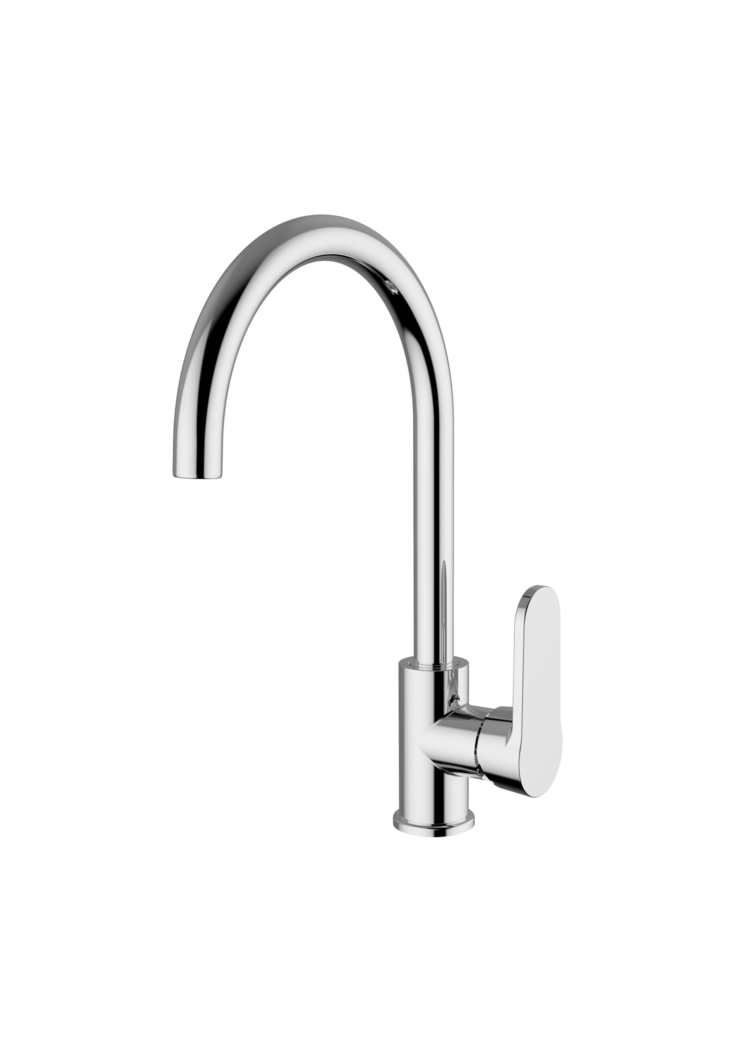 Immagine HD JULIET Sink mixer with swivelling spout