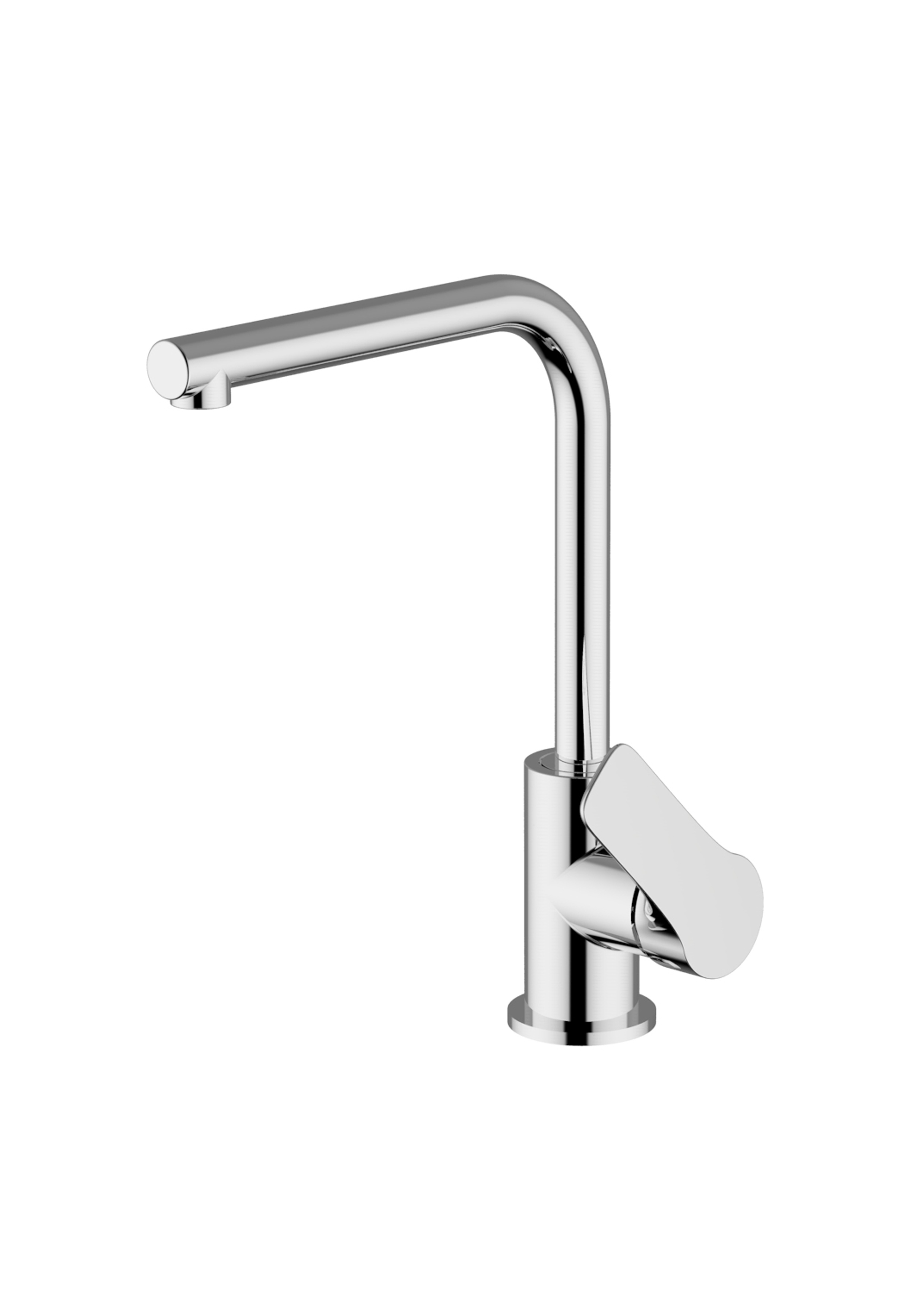Immagine HD VERA Sink mixer with L D=20 swivelling spout