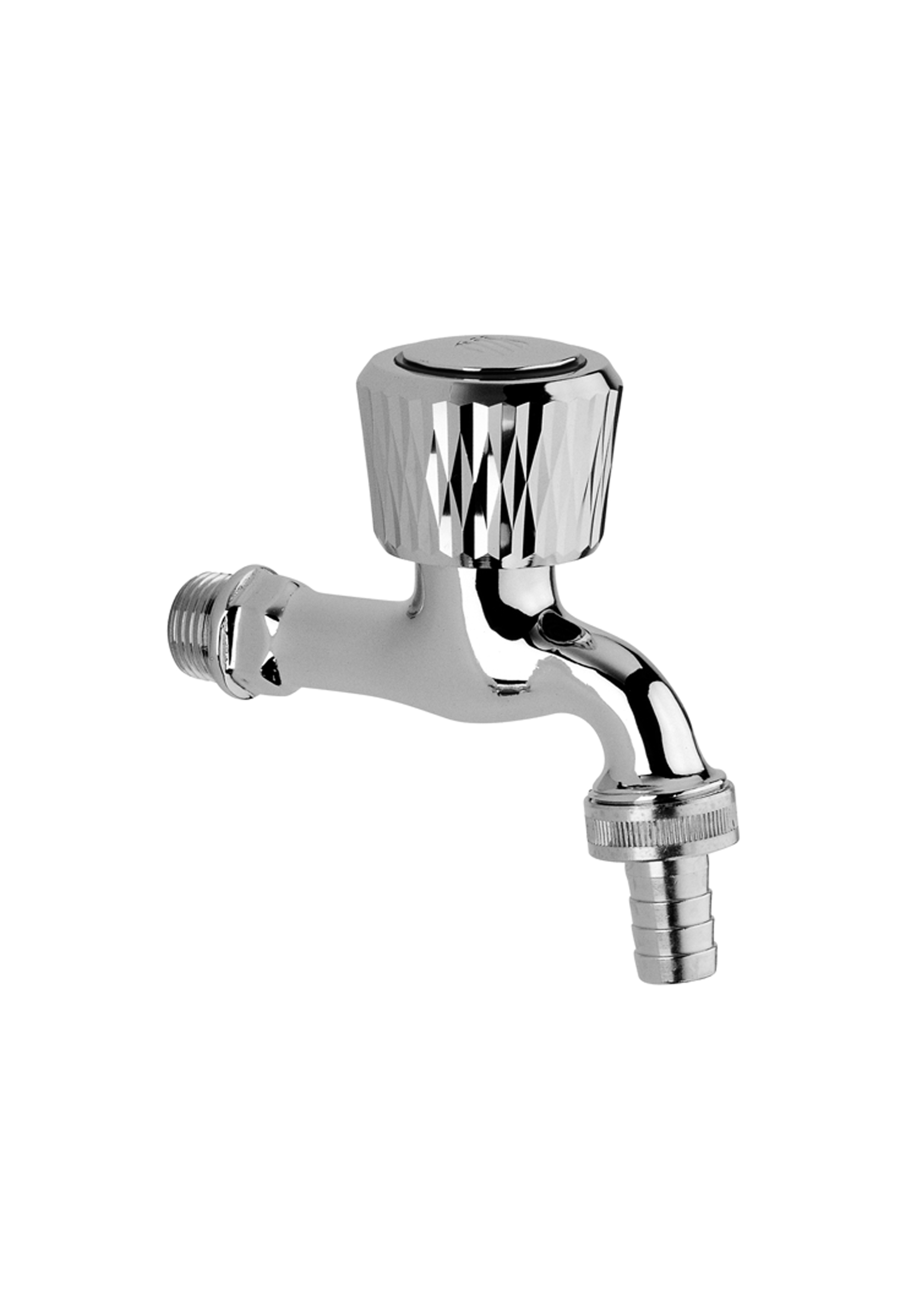 Immagine HD ENNE 1/2″ tap with rubber connection, packed in pairs