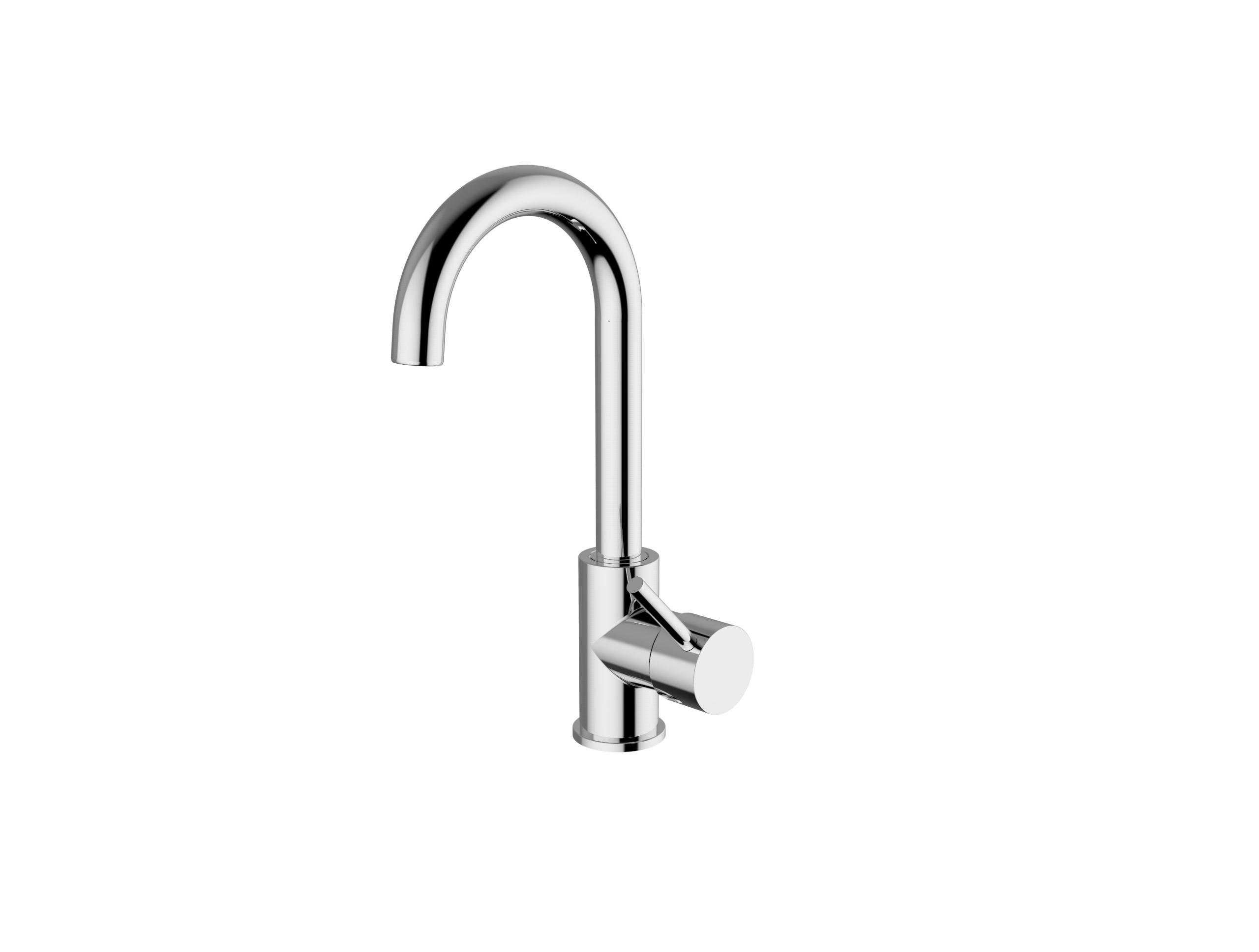 Immagine HD METRO 2.0 Wash basin mixer lateral lever