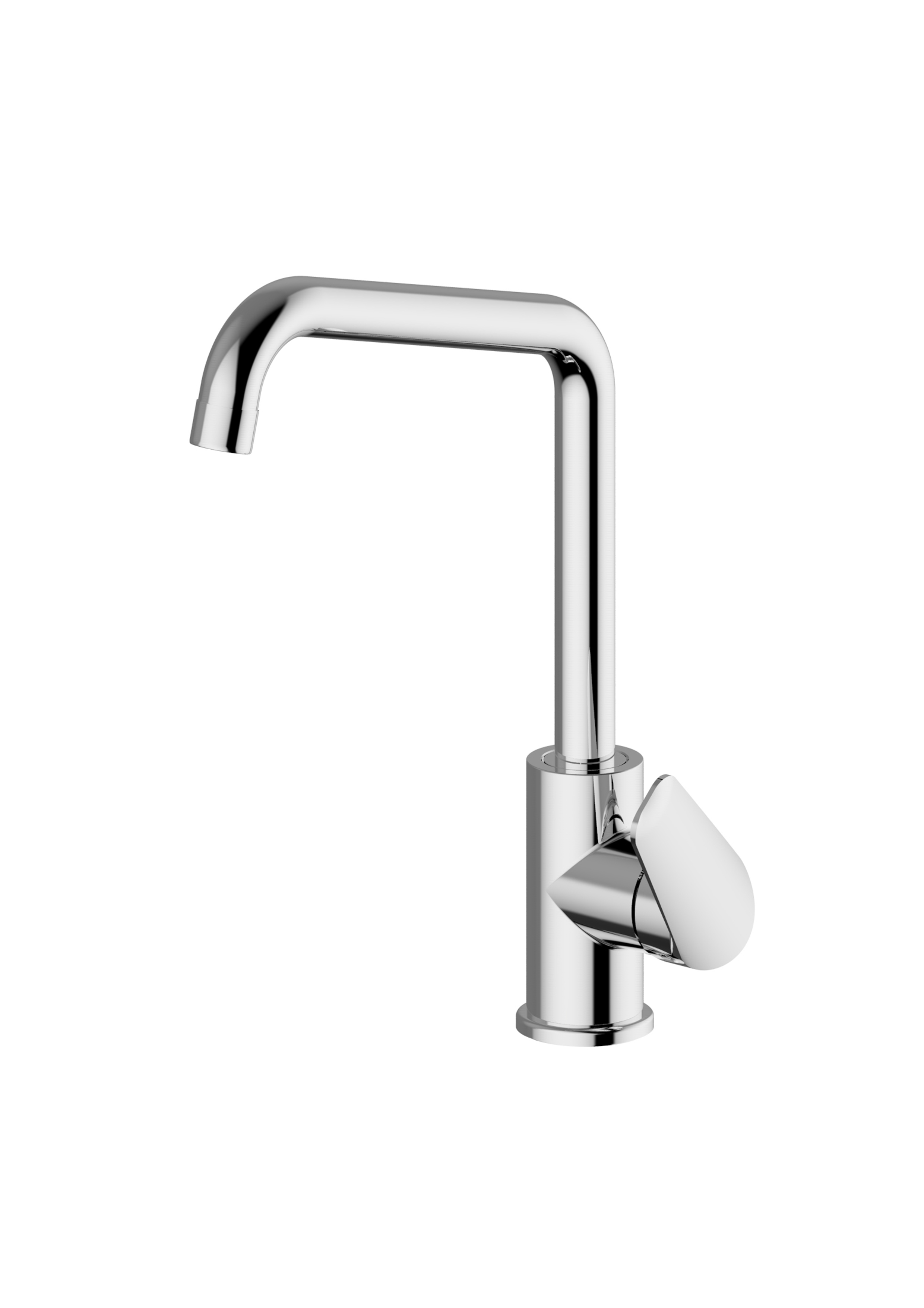 Immagine HD ARTIC Sink mixer with L swivelling spout