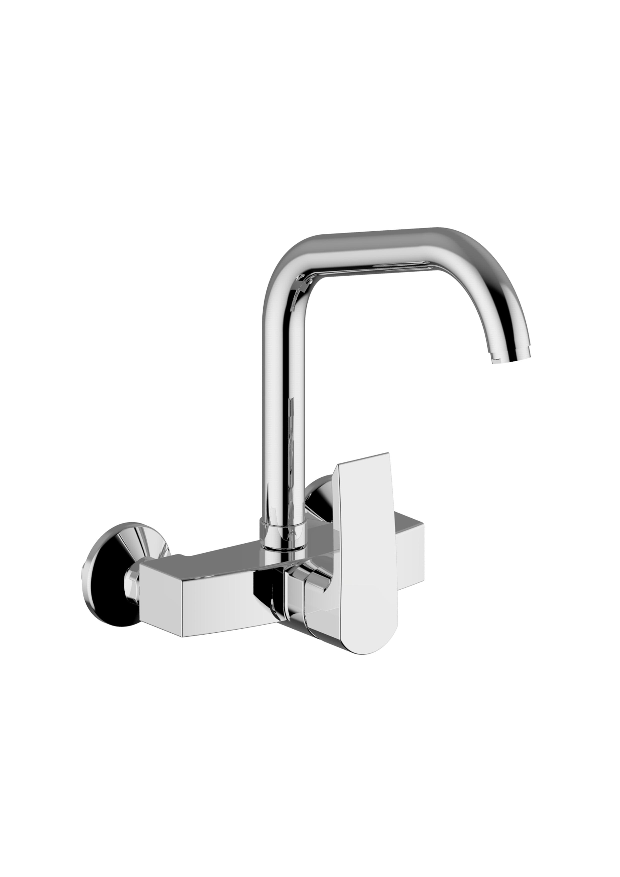 Immagine HD QUEEN Wall mounted sink mixer