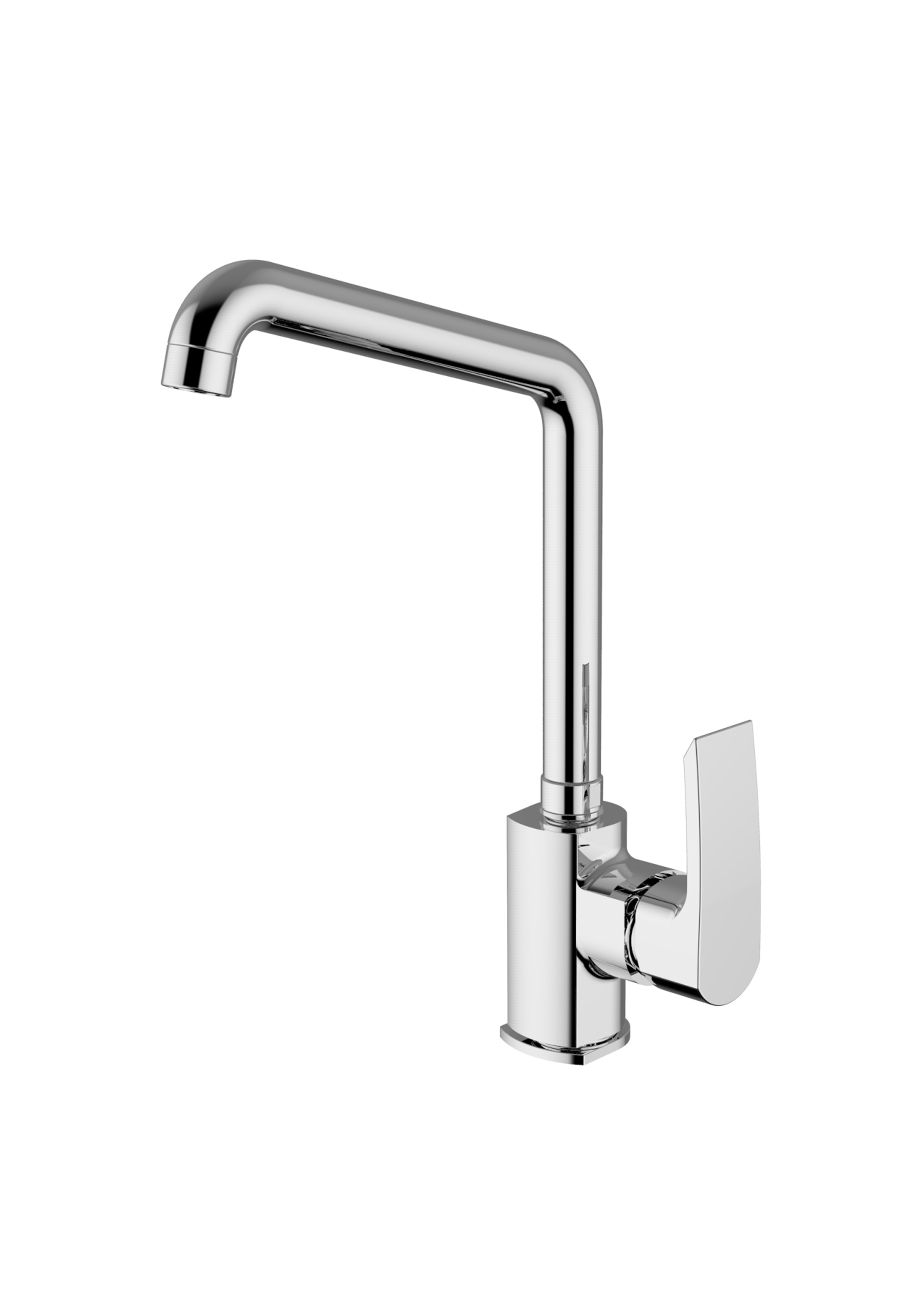 Immagine HD QUEEN Sink mixer with swivelling spout
