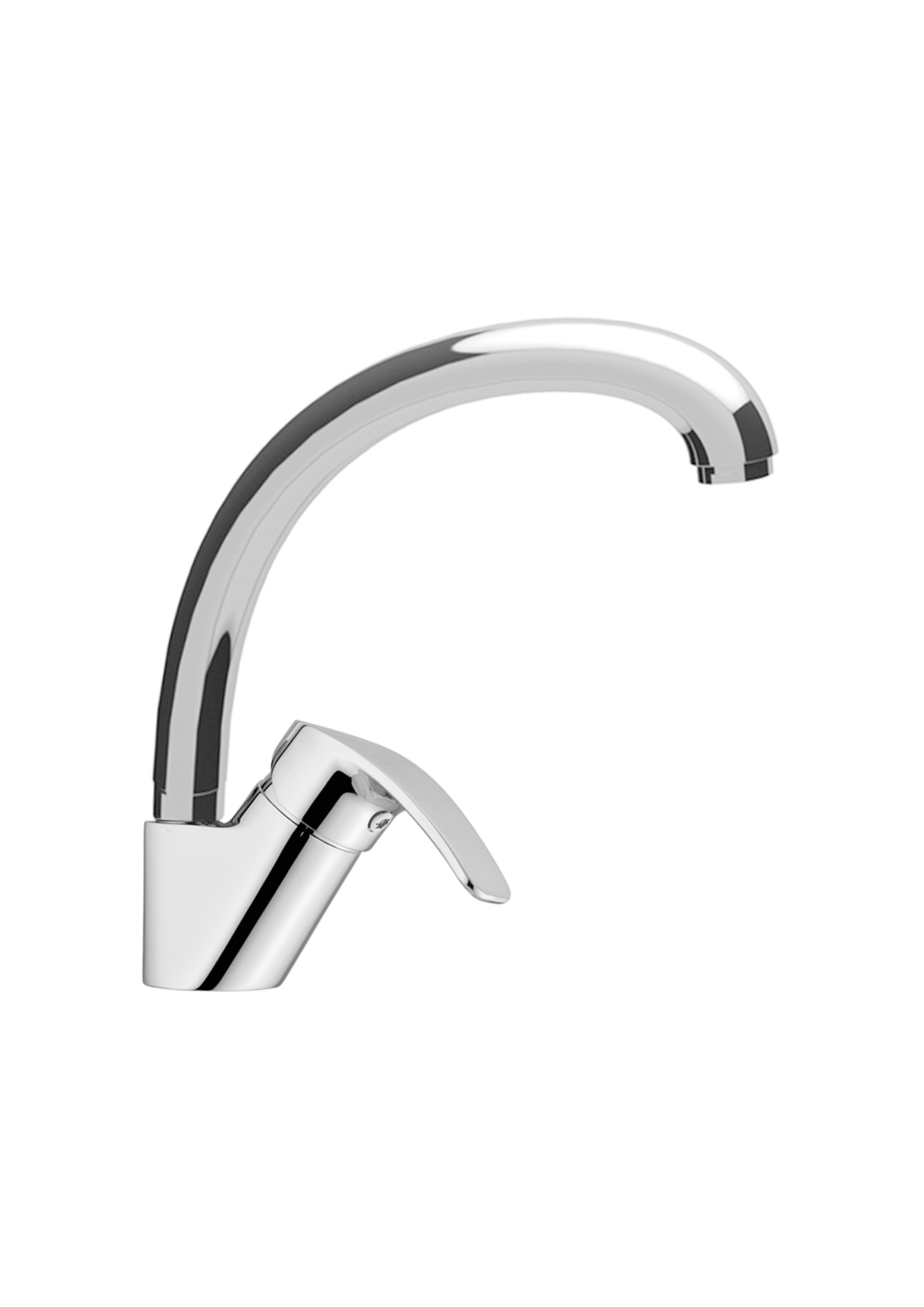 Immagine HD KIWI Sink mixer swivelling tube spout