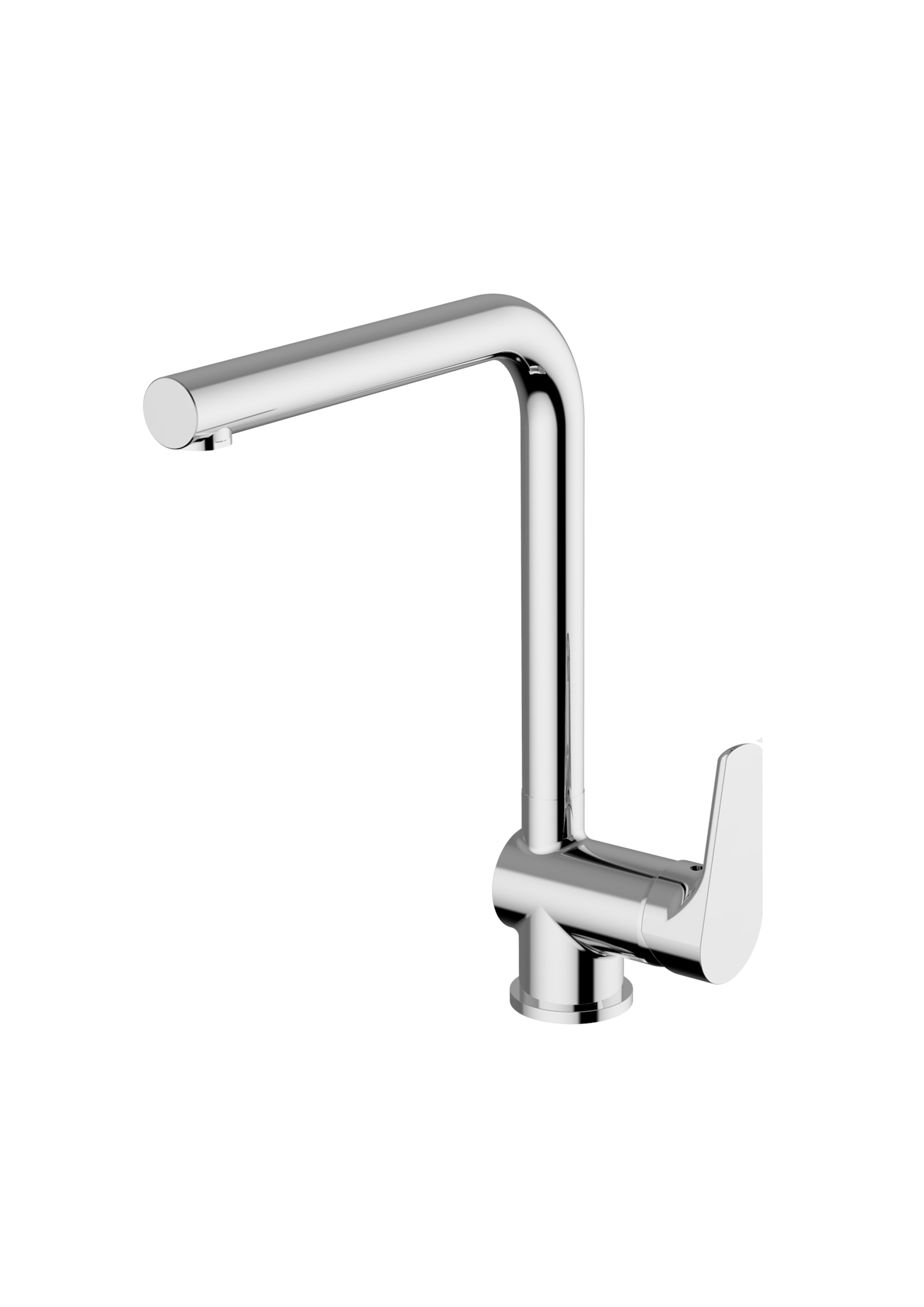 Immagine HD NASHI Sink mixer lateral lever with pull-out shower