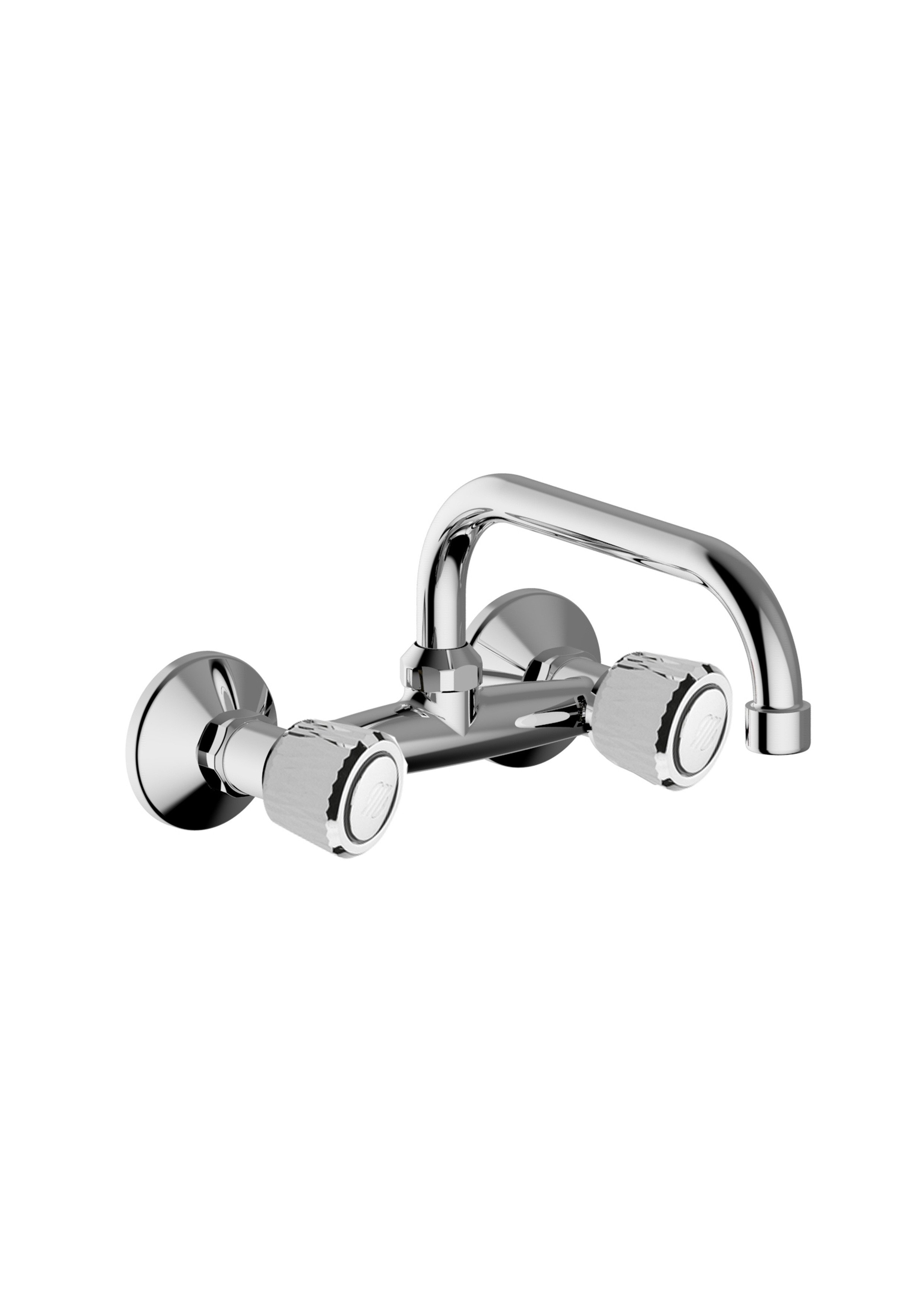Immagine HD ENNE Wall mounted sink mixer with U200 spout