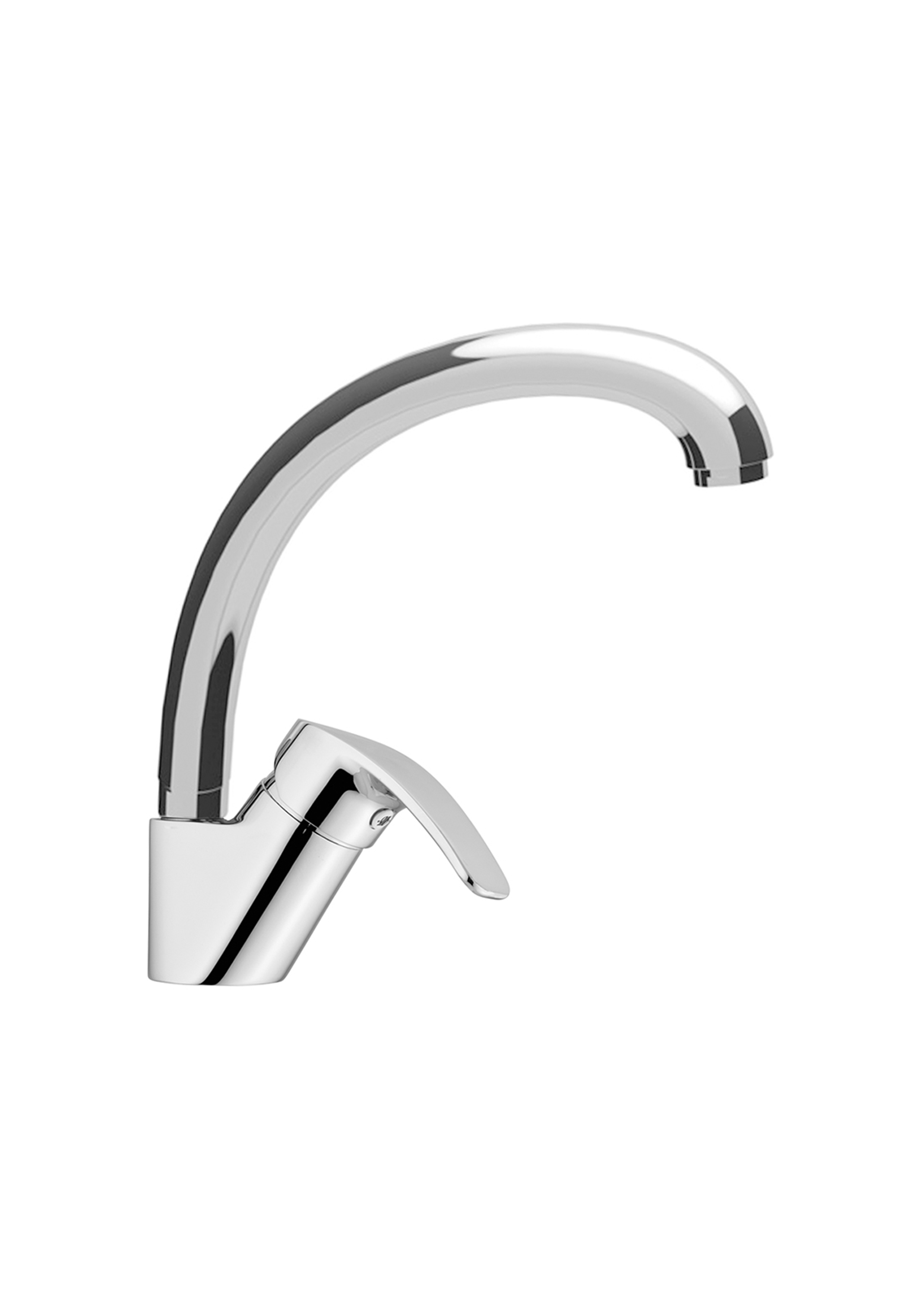 Immagine HD Sink mixer with tube spout
